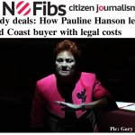 Shady deals: How Pauline Hanson left a Gold Coast buyer with legal costs – @Qldaah #qldpol #auspol