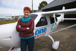 Pauline and Plane