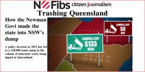 Trashing Queensland: How the Newman Govt made the state into NSW's dump