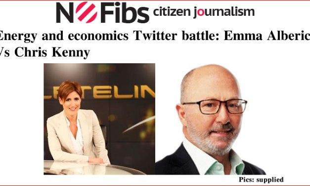 Energy and economics: @albericie Vs @chriskkenny Twitter battle – @Qldaah #auspol