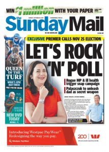 October 29, 2017 The Sunday Mail - Let's Rock 'N' Poll