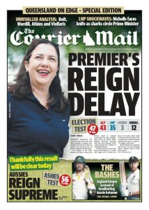 171127 The Courier Mail - Premier's Reign Delay