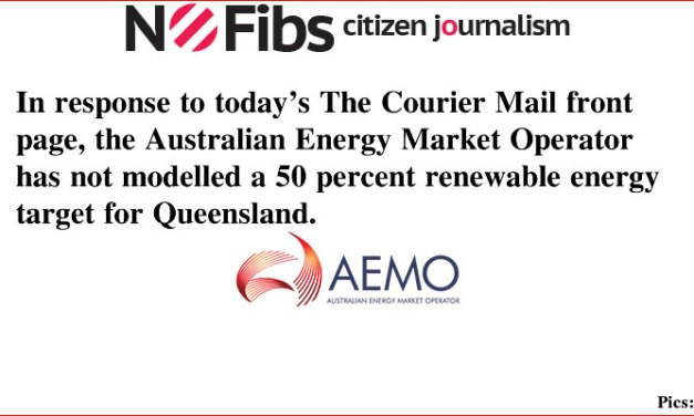 AEMO has not modelled a 50 percent renewable energy target for Qld #qldvotes #qldpol @Qldaah