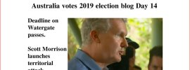 Australia votes 2019 election blog Day 14