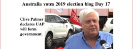 Australia votes 2019 election blog Day 17