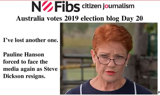 #AusVotes Day 20 – Pauline loses another one: @qldaah #qldpol