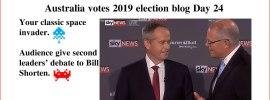 Australia votes 2019 election blog Day 24