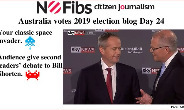 #AusVotes Day 24 – Space invaders: @qldaah #qldpol