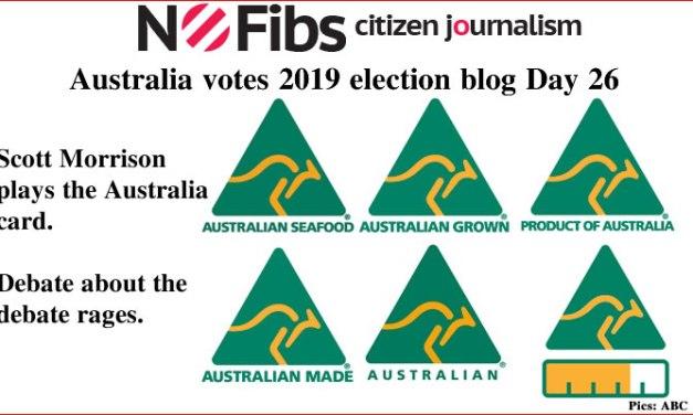 #AusVotes Day 26 – Australian made: @qldaah #qldpol