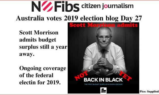 #AusVotes Day 27 – Not back in black yet: @qldaah #qldpol