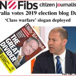 #AusVotes Day 35 – 'Class warfare' slogan deployed: @qldaah #qldpol