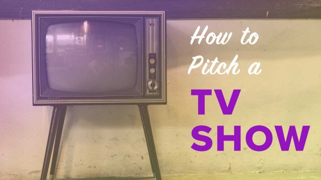 How to Pitch a TV Show to Any Network or Streamer (Free Checklist)