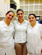 Telma, Carol e Juliana - 2014