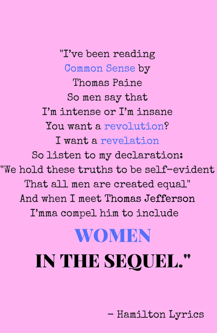 I've been reading Common Sense by Thomas PaineSo men say that I'm intense or I'm insaneYou want a revolution- I want a rev.jpg