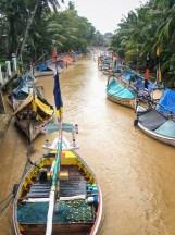 Pasongsongan river boats