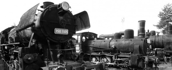 Black and white, Romanian Rail Museum