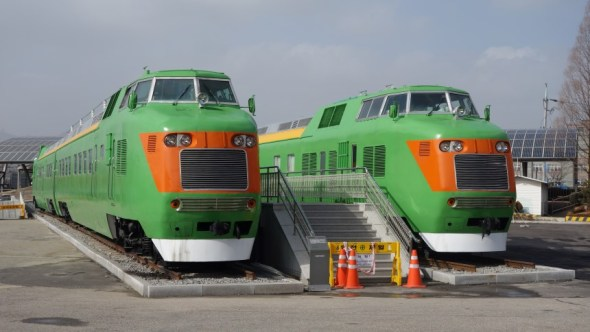 Orange trains from 1980s