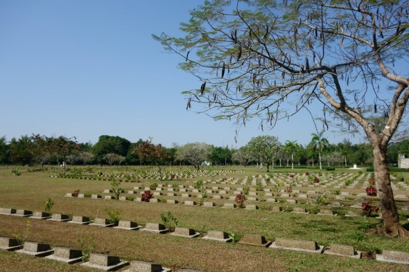 the CWC ensures the Cemetary is imacuately kept