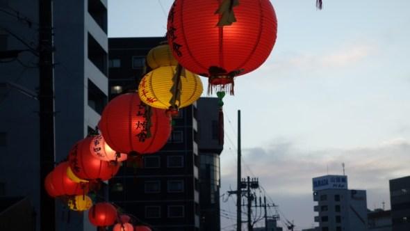Lantern festival was a bonus!
