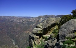 View of the copper canyon