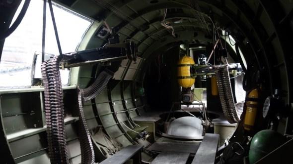 Inside of B17