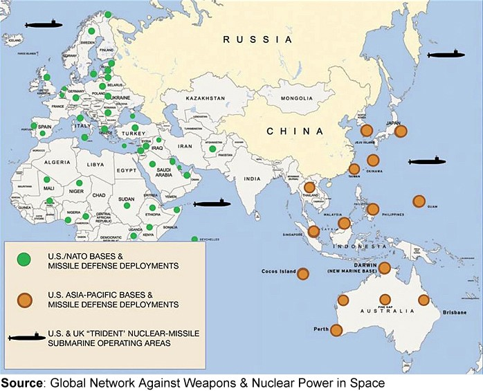 Conference On Us Foreign Military Bases Institute For Policy Studies - Map-of-all-army-bases-in-the-us