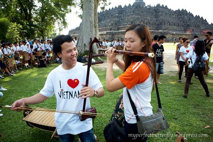 ASEAN Youth Cultural Camp, Dizi, Jamie Chan, Indonesia