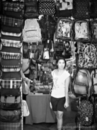 woman, bags, joo chiat, street