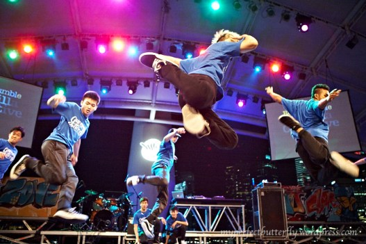 Yfest, b boys, 2012, dance, blue, Singapore