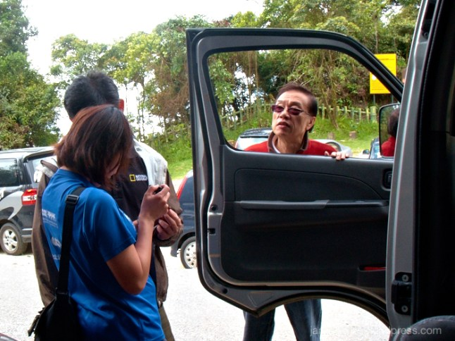 Man, Van, tour, cameron highlands, malaysia