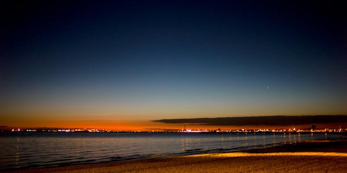 Sunset st kilda, Melbourne, Australia