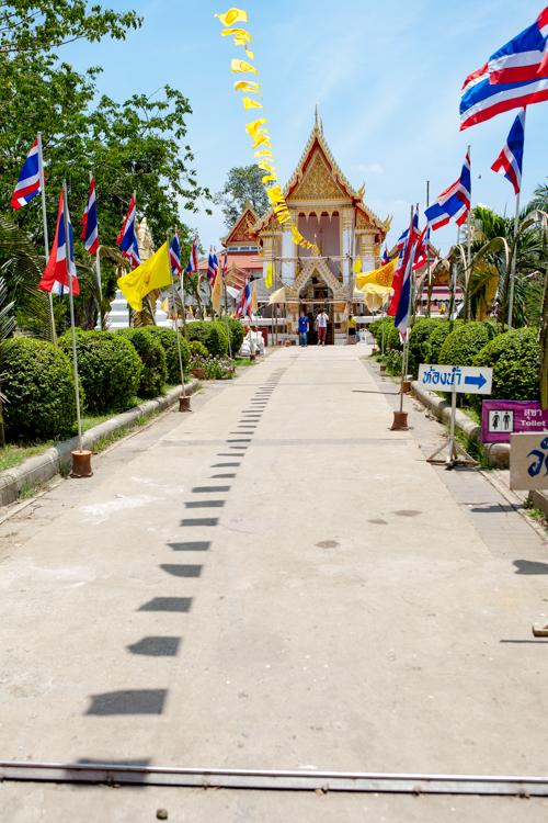 Koh Kred, Thailand, temple, sunny