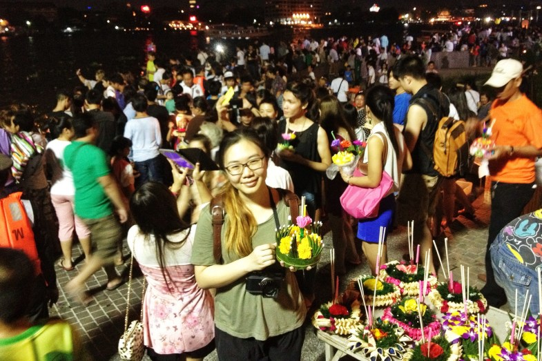 Loy krathong, Thailand, Jamie Chan