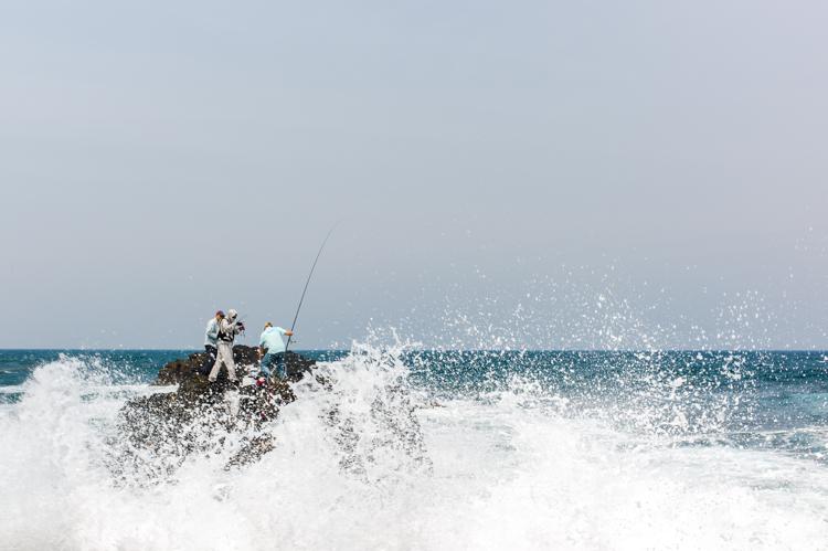 Melbourne Ocean fishing Leica