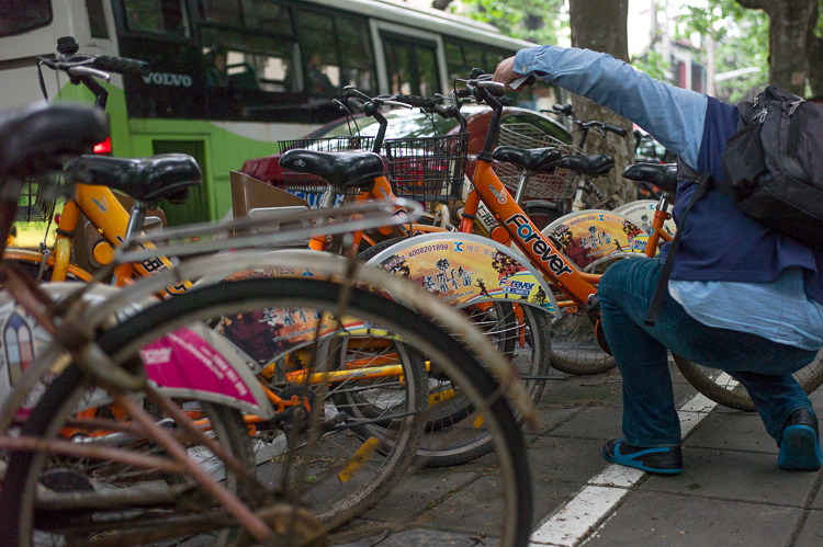 Spring Airlines, Jamie Chan, Leica, Shanghai, bicycle, transportation