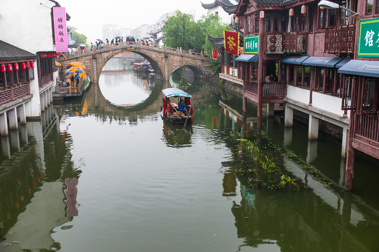Qi Bao, Shanghai, water town, acient city, tourist spot, Jamie Chan, No Foreign Lands, Travel Blog