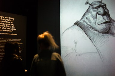 dreamworks exhibition, ACMI, sketch, Melbourne, Jamie Chan, No Foreign Lands, Blog, Leica