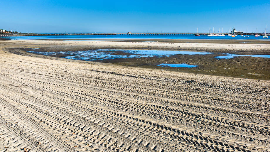 Melbourne, Leica, Blogger, Jamie Chan, No Foreign Lands, St Kilda, Beach, Blue, Sand