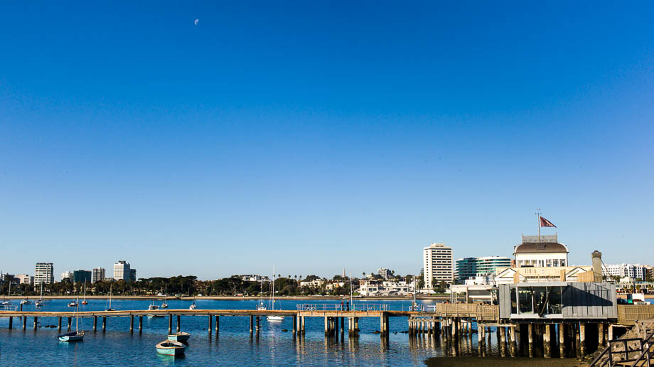 Melbourne, Leica, Blogger, Jamie Chan, No Foreign Lands, St Kilda, Beach, Blue, moon