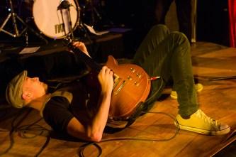 Docklands Blues Music Festival, Jamie Chan, Leica, Jimi Hocking, lying on the floor