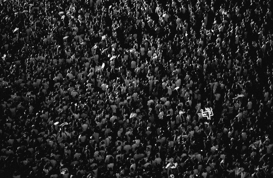 Singapore Election, Workers Party, Monochrome, Masses, Jamie Chan