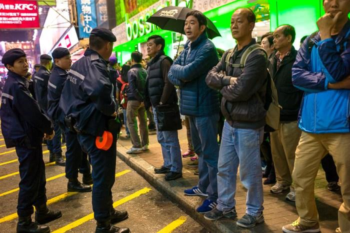 umbrella movement, yellow umbrella, Hong Kong, Protest, Leica, Jamie Chan, mongkok, fight