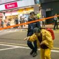 umbrella movement, yellow umbrella, Hong Kong, Protest, Leica, Jamie Chan, mongkok, street, close