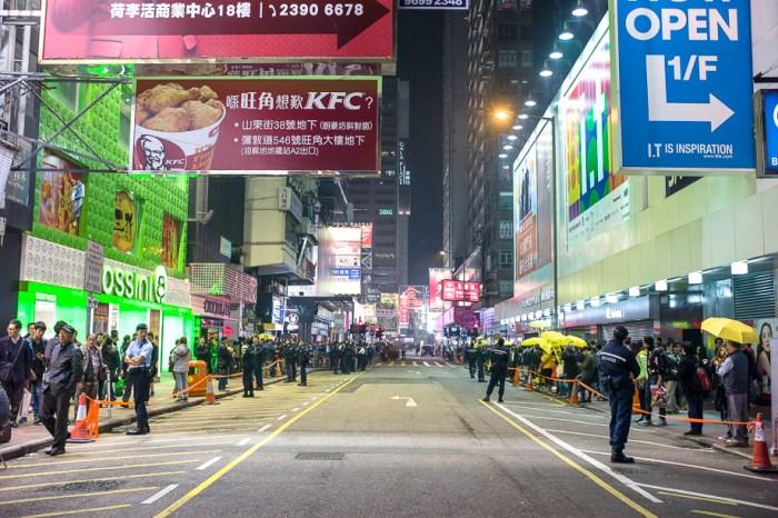umbrella movement, yellow umbrella, Hong Kong, Protest, Leica, Jamie Chan, mongkok, street