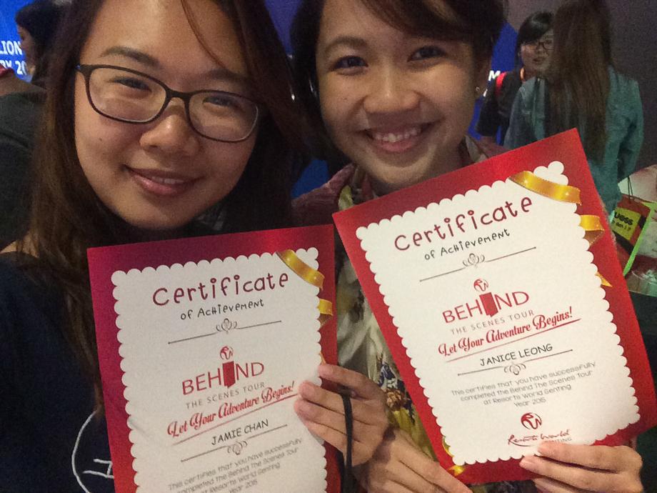 Resort World Genting, Singapore bloggers, travel, Malaysia, Horizon 50, Jamie Chan, behind the scenes, janiqueel