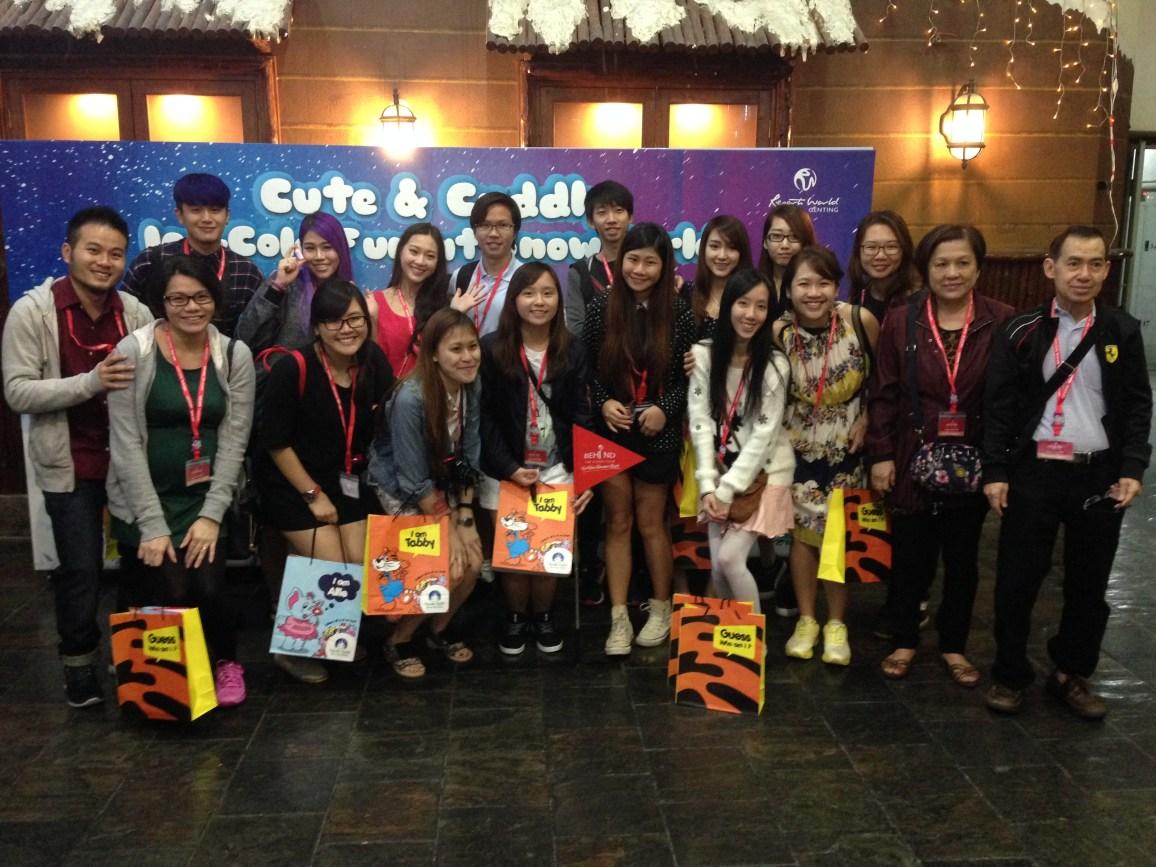 Resort World Genting, Singapore bloggers, travel, Malaysia, Behind the Scenes, Snow World, Jamie Chan, Bloggers