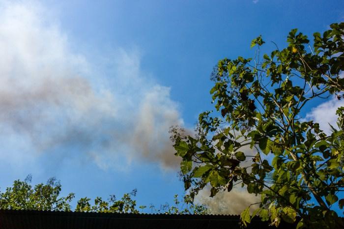 Jamie Chan, Travel Blogger, Photography, Leica, No Foreign Lands, fire, Foundry 2015, smoke, sky