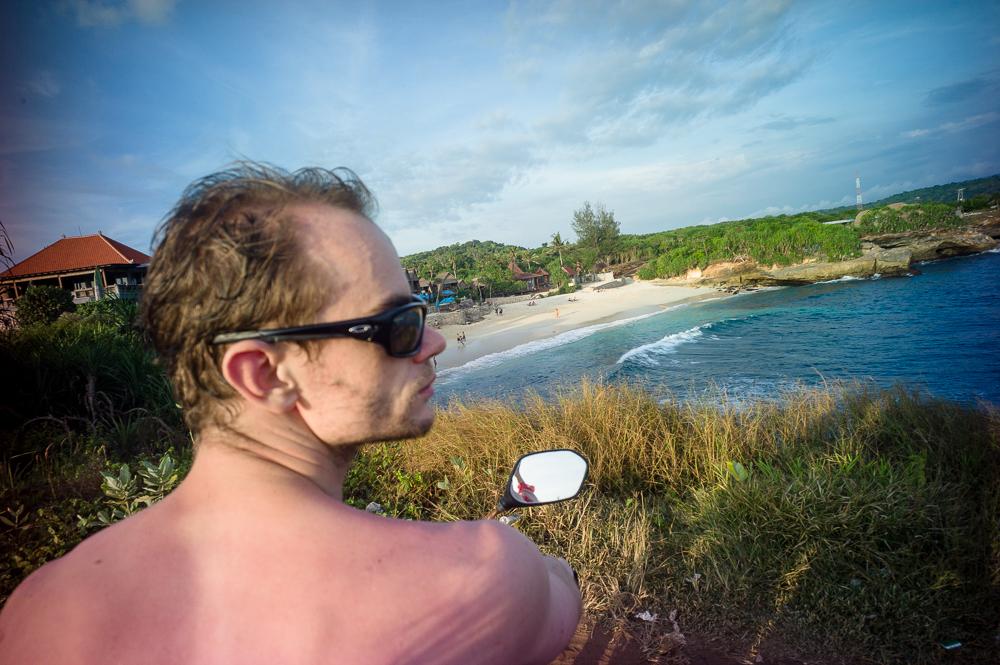 Lomography, New Russar+ Lens, Sandy Beach, Nusa Lembongan, Sea, Leica M-E