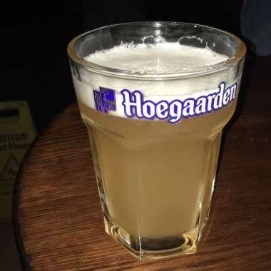 Hoegaarden on the tap