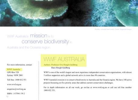 OHG_WWF_Australia_publicati